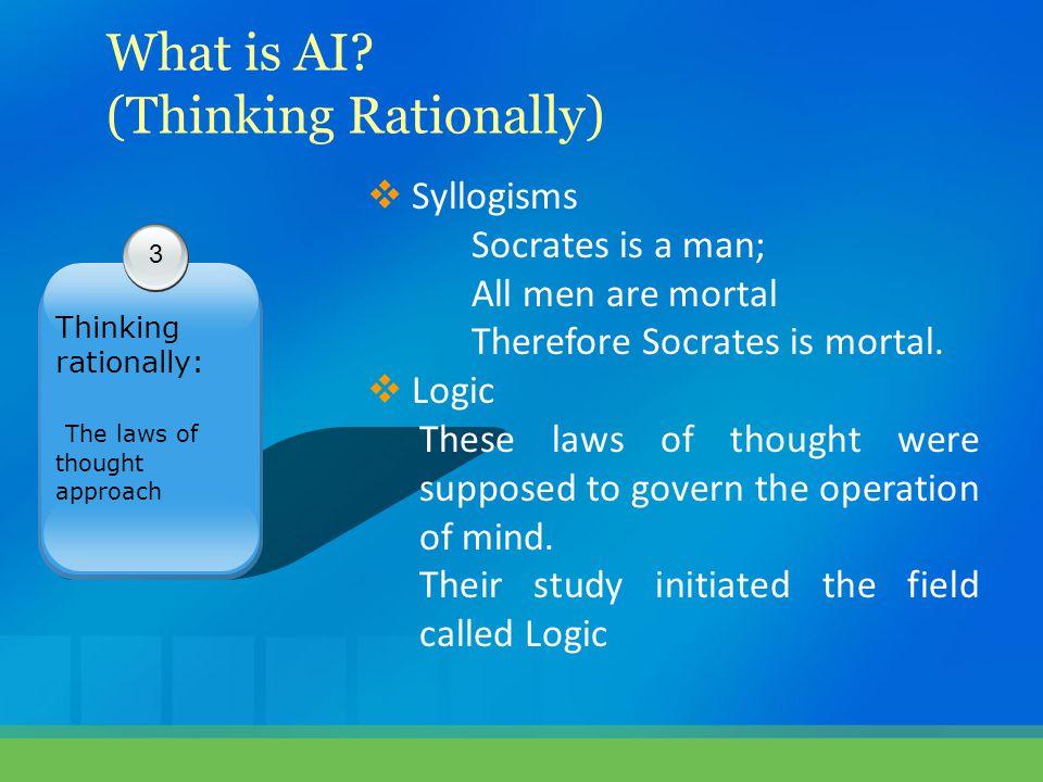 (Thinking Rationally)