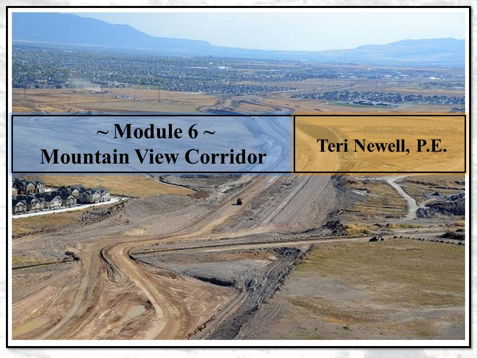 Mountain View Corridor