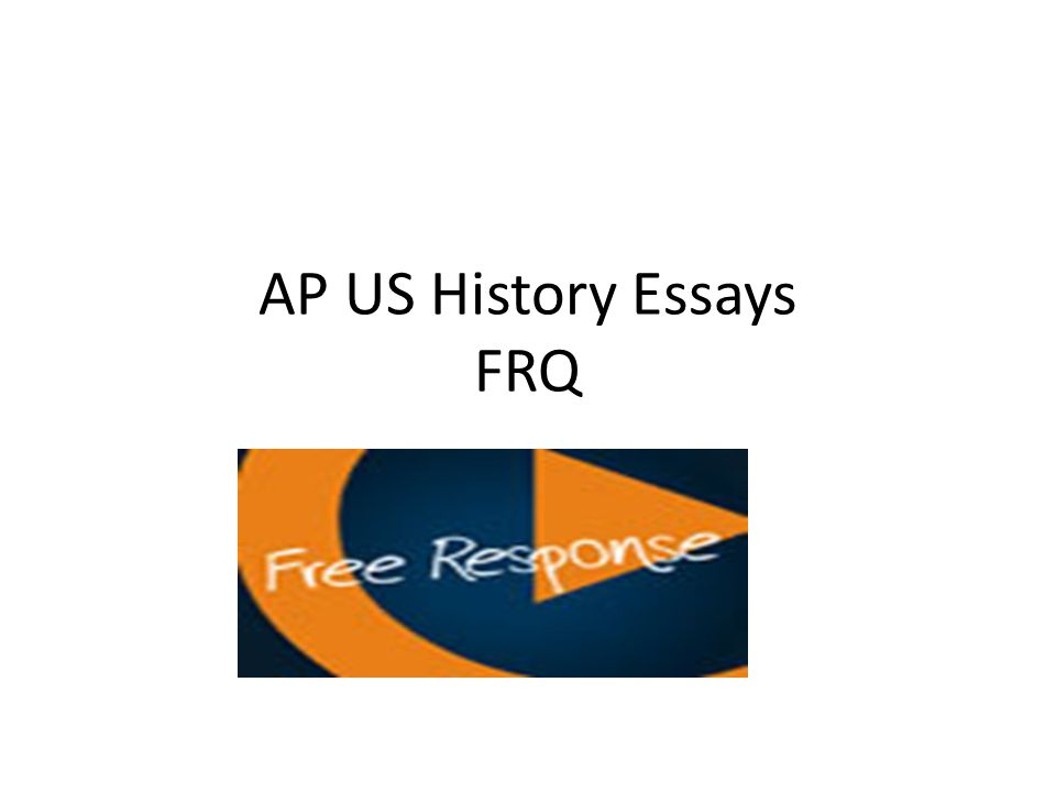 ap us history thesis