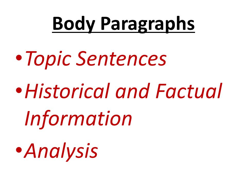 Historical and Factual Information Analysis