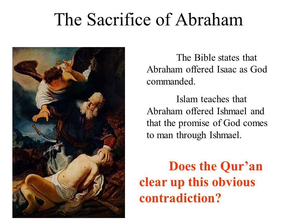 The Sacrifice of Abraham