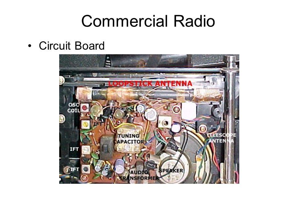 Commercial Radio Circuit Board
