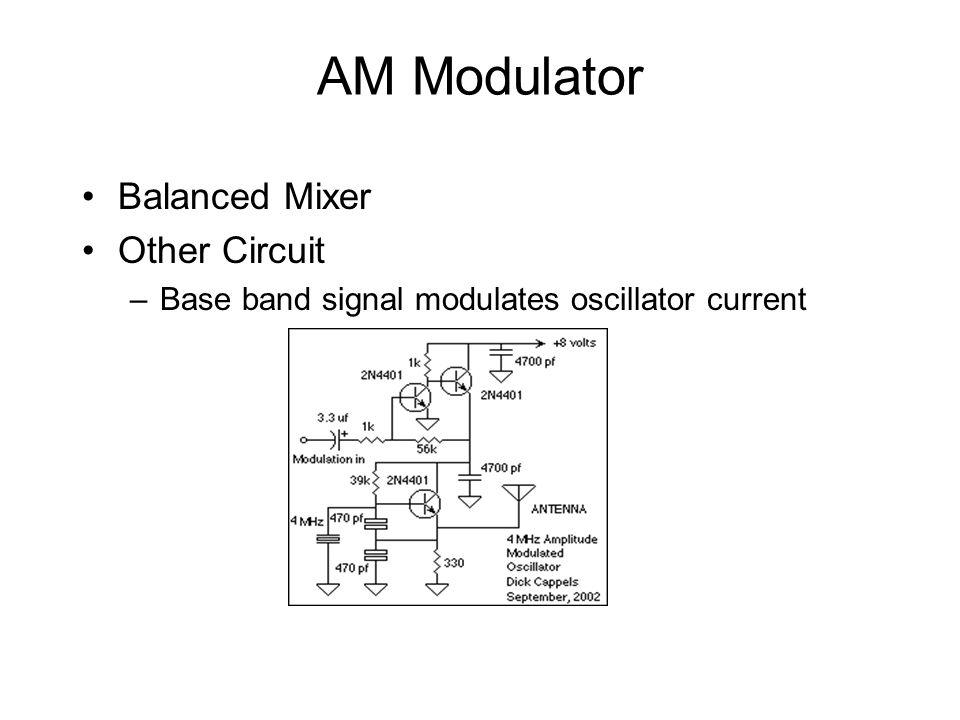 AM Modulator Balanced Mixer Other Circuit