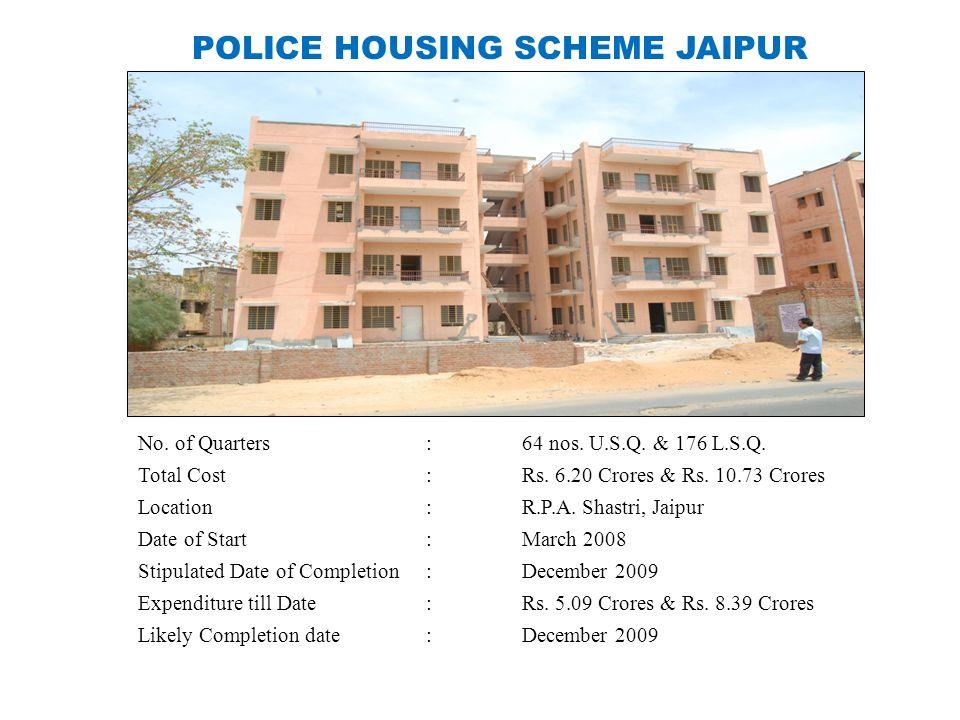 POLICE HOUSING SCHEME JAIPUR