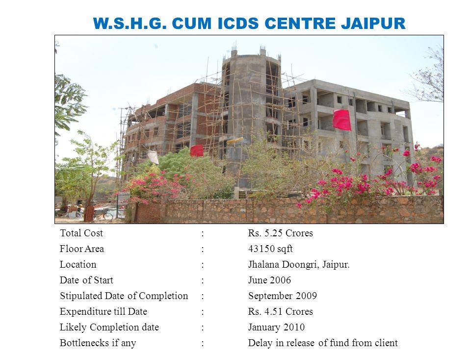 W.S.H.G. CUM ICDS CENTRE JAIPUR