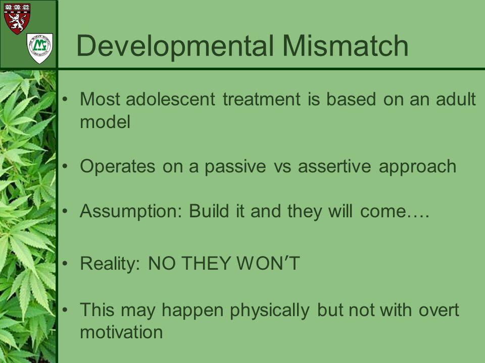 Developmental Mismatch