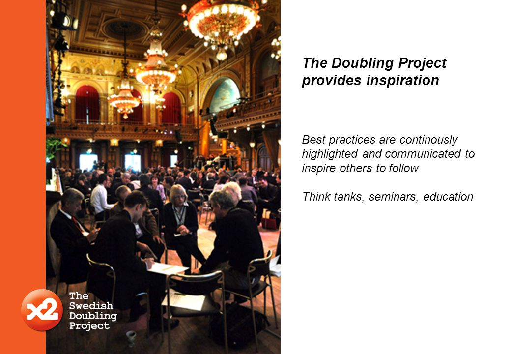 The Doubling Project provides inspiration