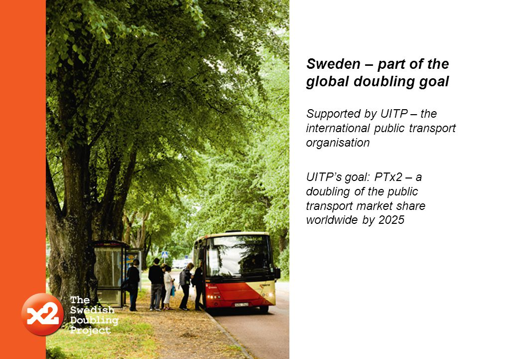 Sweden – part of the global doubling goal