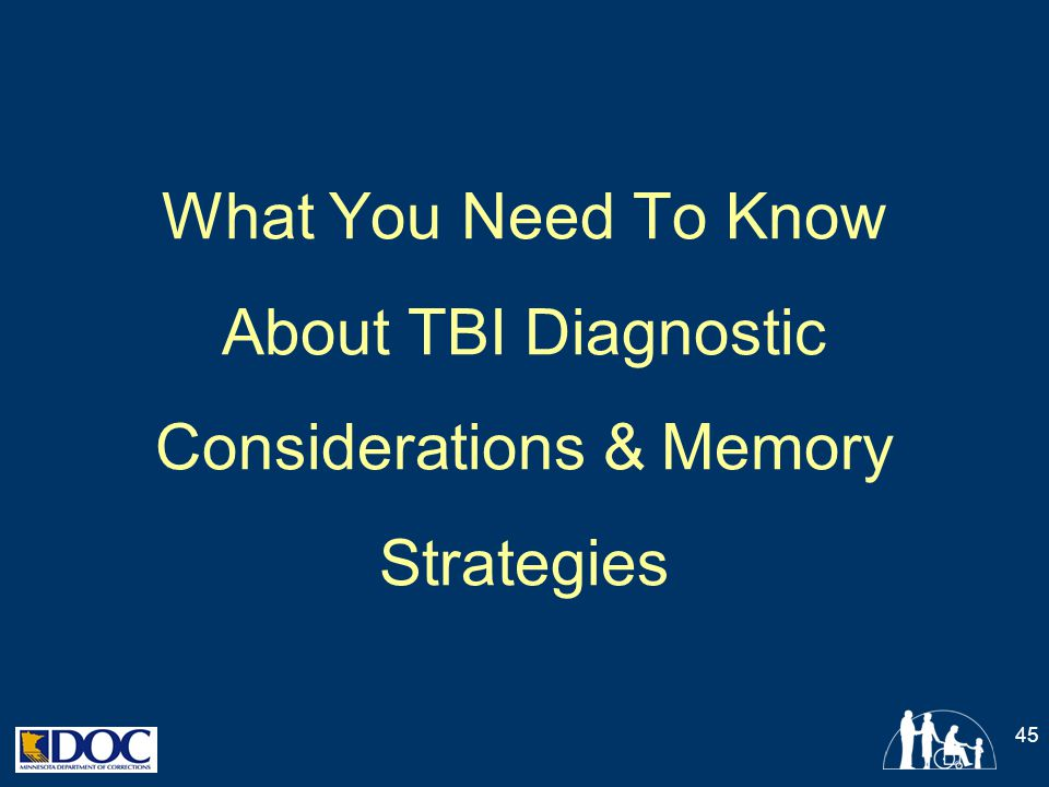 What You Need To Know About TBI Diagnostic Considerations & Memory Strategies