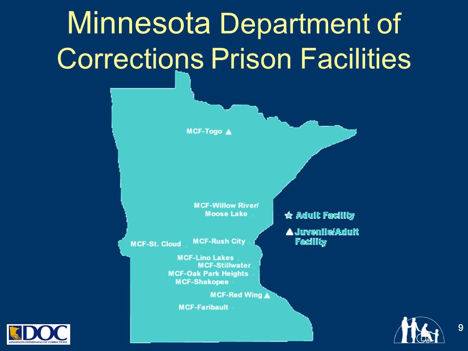 Minnesota Department of Corrections Prison Facilities
