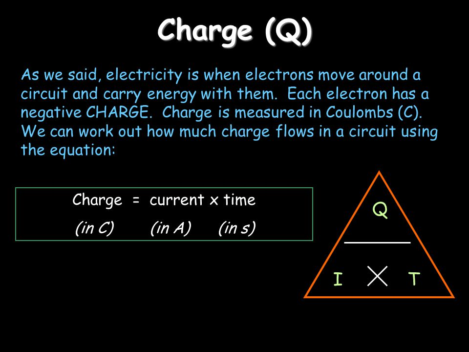 Charge (Q)