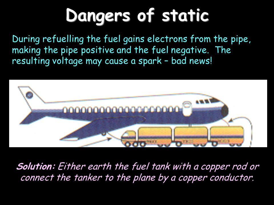 Dangers of static