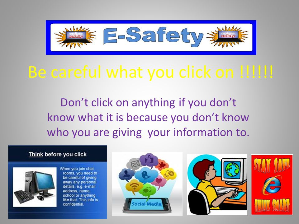 Be careful what you click on !!!!!!