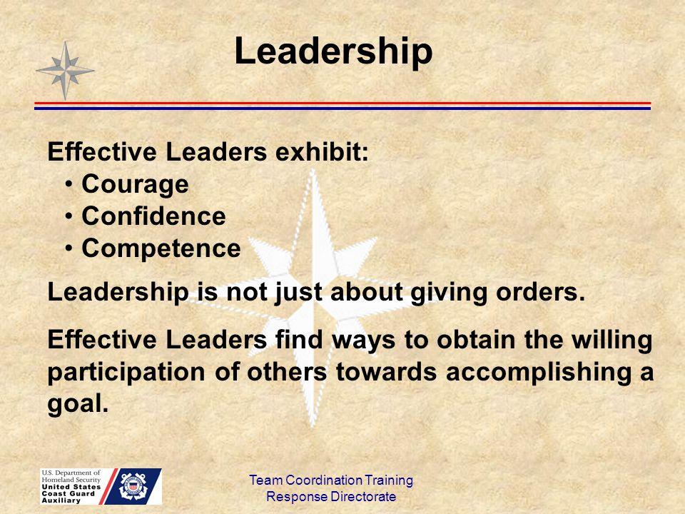 Team Coordination Training