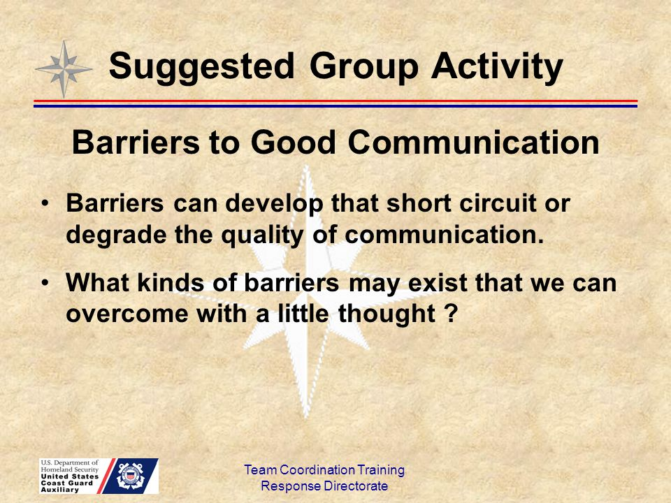 Suggested Group Activity