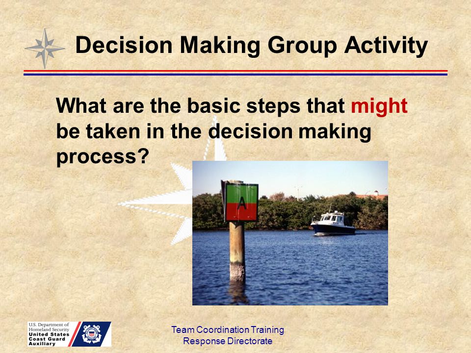 Decision Making Group Activity