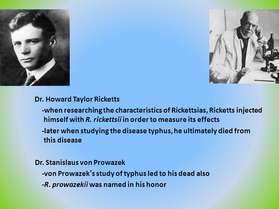Dr. Stanislaus von Prowazek