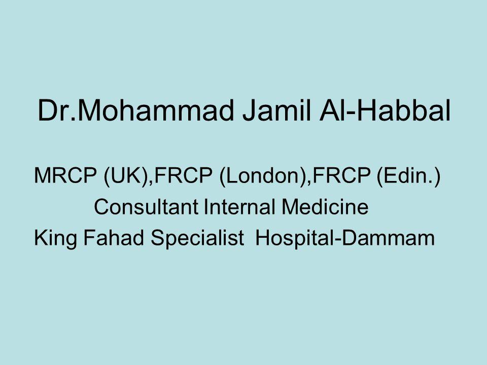 Dr.Mohammad Jamil Al-Habbal