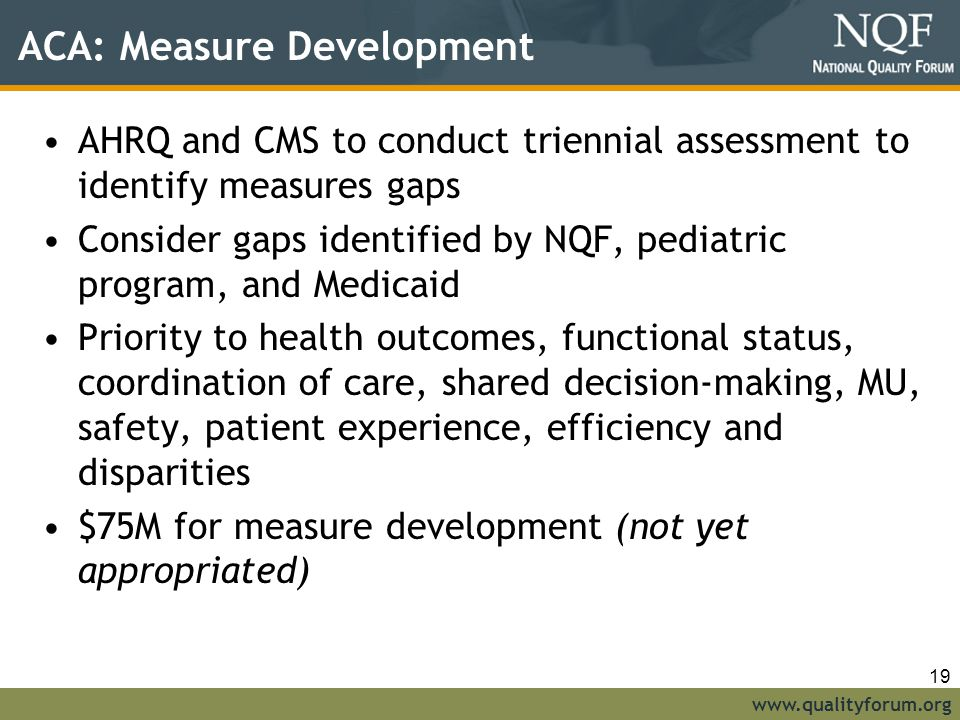 ACA: Measure Development