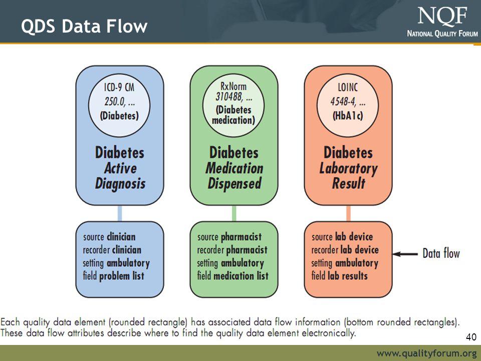 QDS Data Flow 40