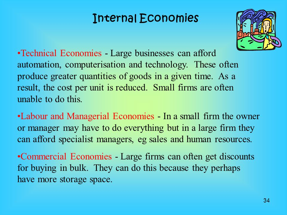 Internal Economies