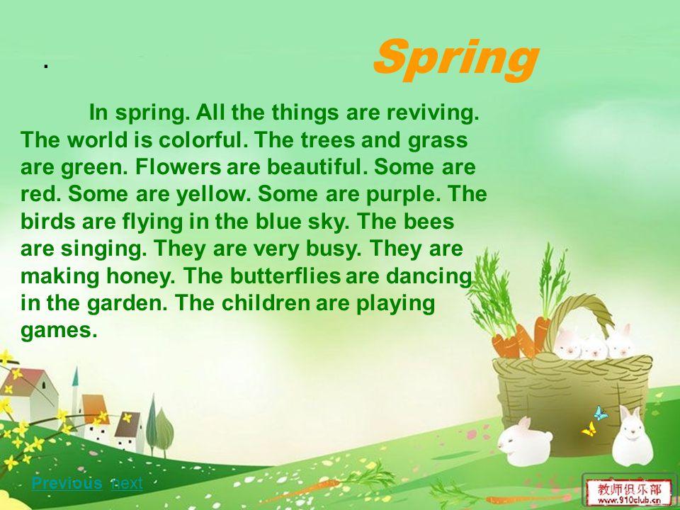 Spring .