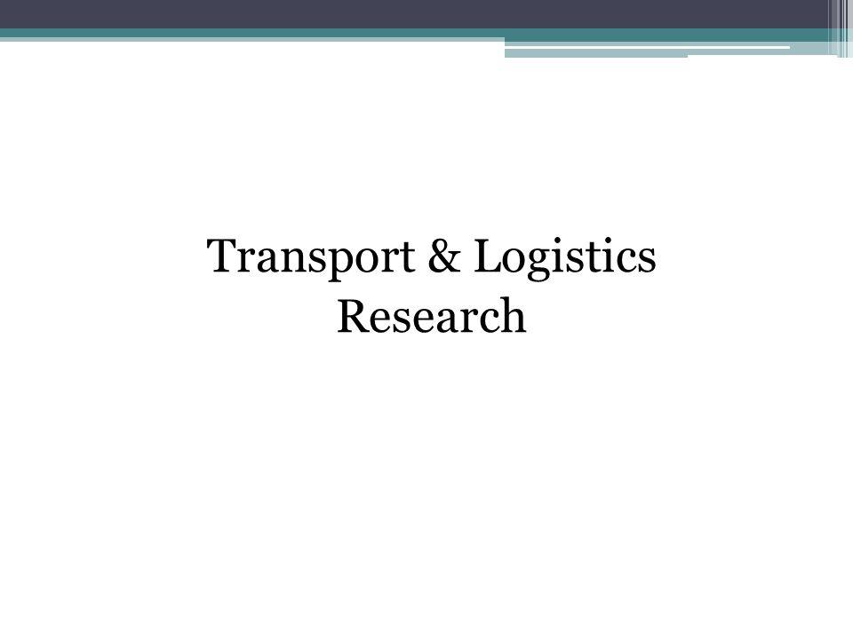 Transport & Logistics Research
