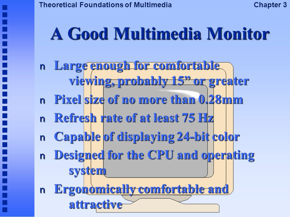 A Good Multimedia Monitor