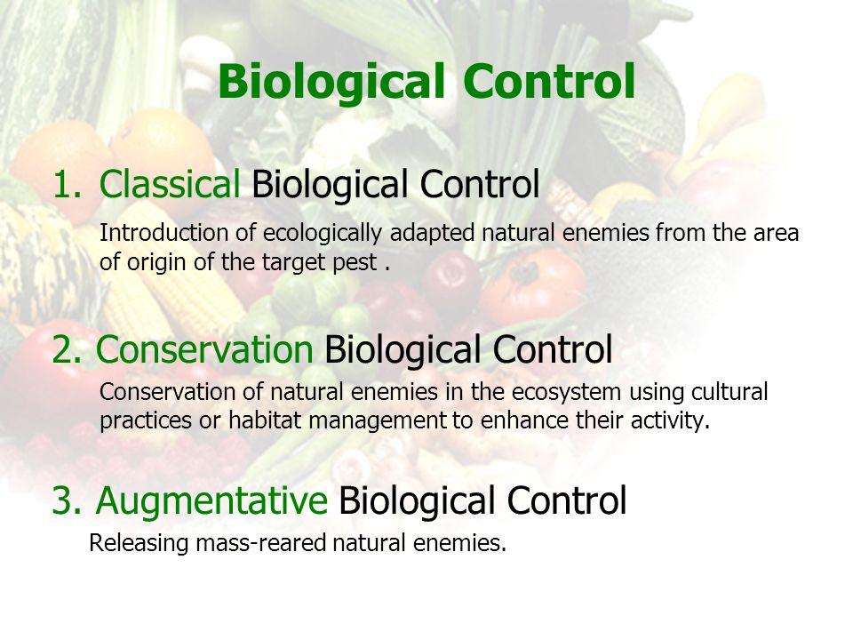 Biological Control Classical Biological Control