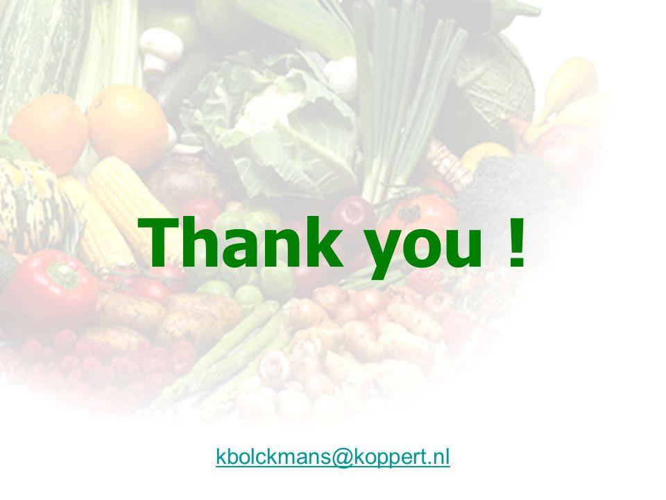 Thank you ! kbolckmans@koppert.nl