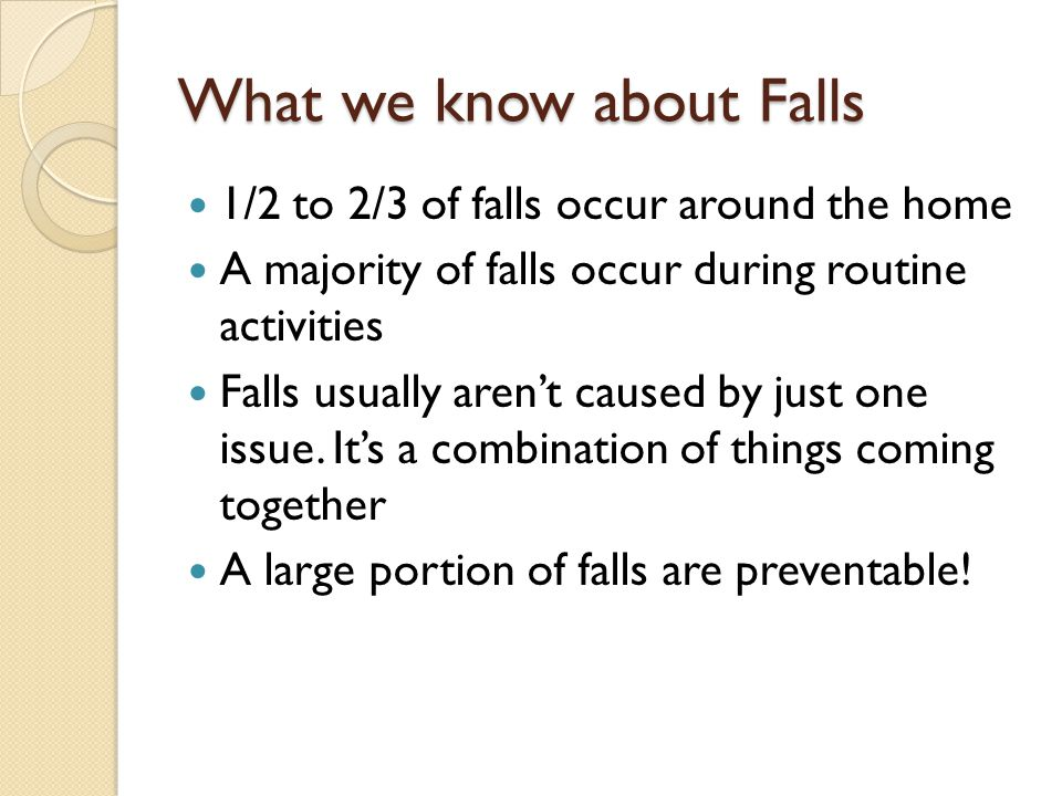 What we know about Falls