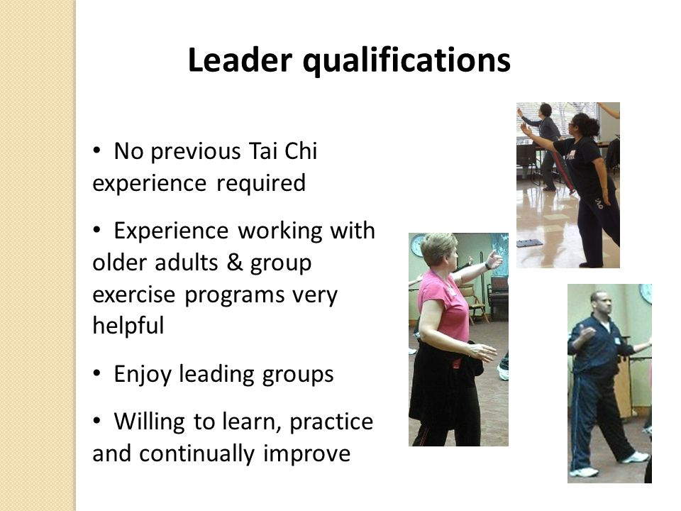 Leader qualifications