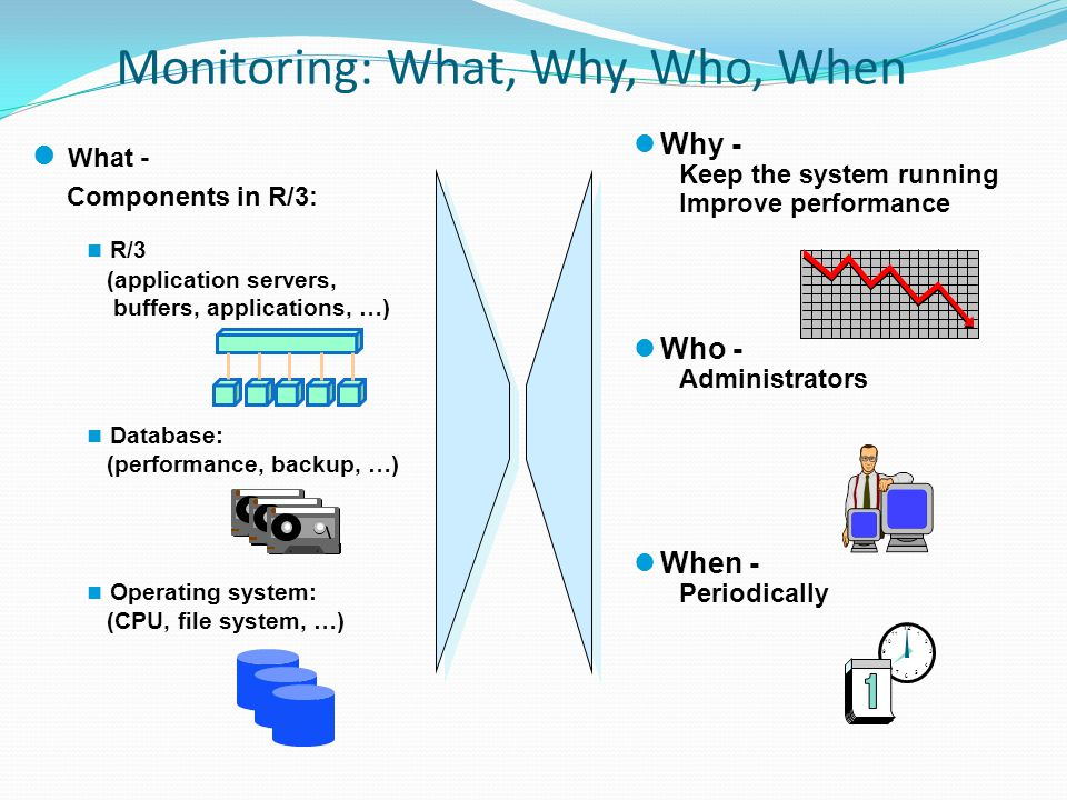 Monitoring: What, Why, Who, When