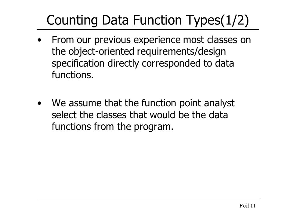 Counting Data Function Types(1/2)
