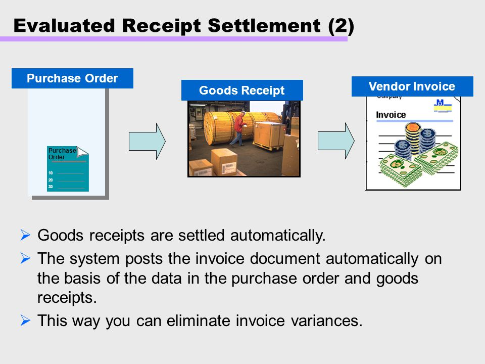 Evaluated Receipt Settlement (2)