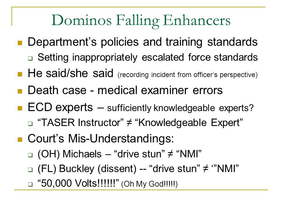 Dominos Falling Enhancers