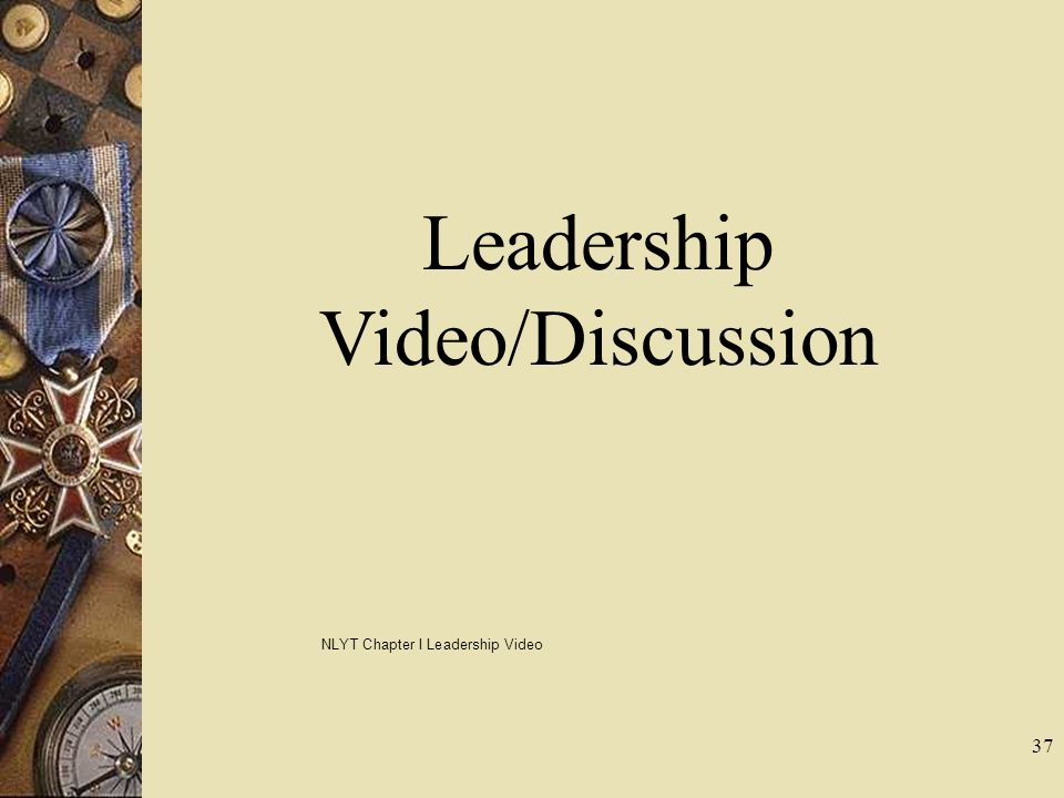 Leadership Video/Discussion