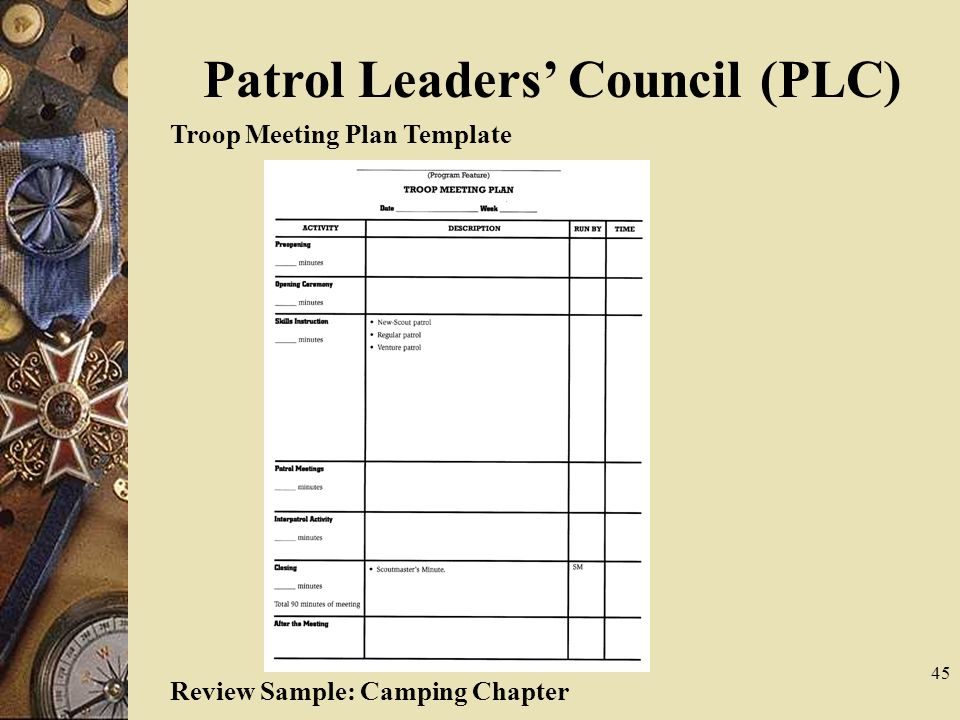 Troop Planning Worksheet Free Worksheets Library | Download and ...