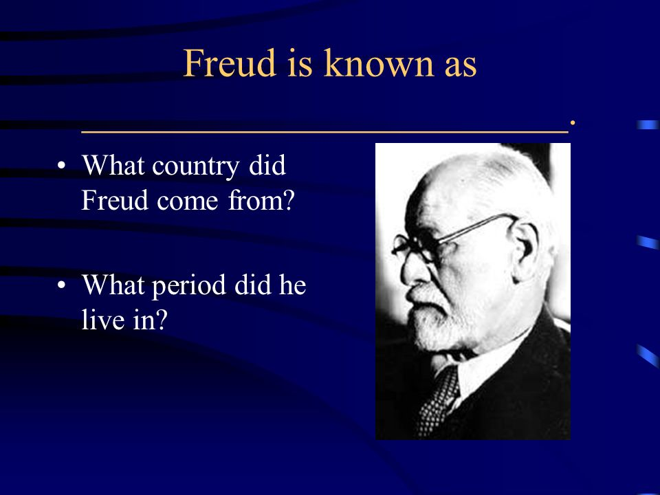 Freud is known as ________________________.