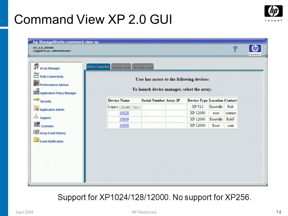 Implementing XP12000 Solution Fundamentals