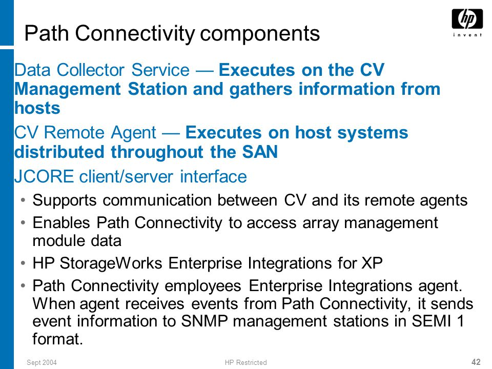 Path Connectivity components
