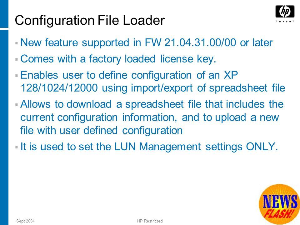 Configuration File Loader