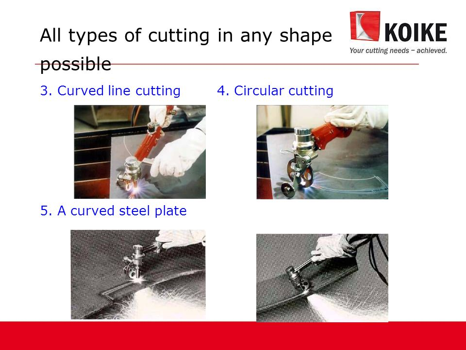 All types of cutting in any shape possible