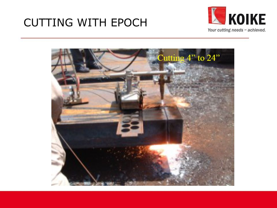CUTTING WITH EPOCH
