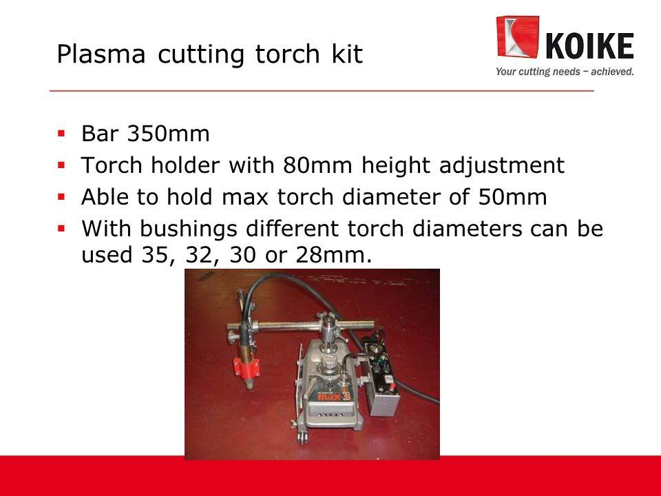 Plasma cutting torch kit