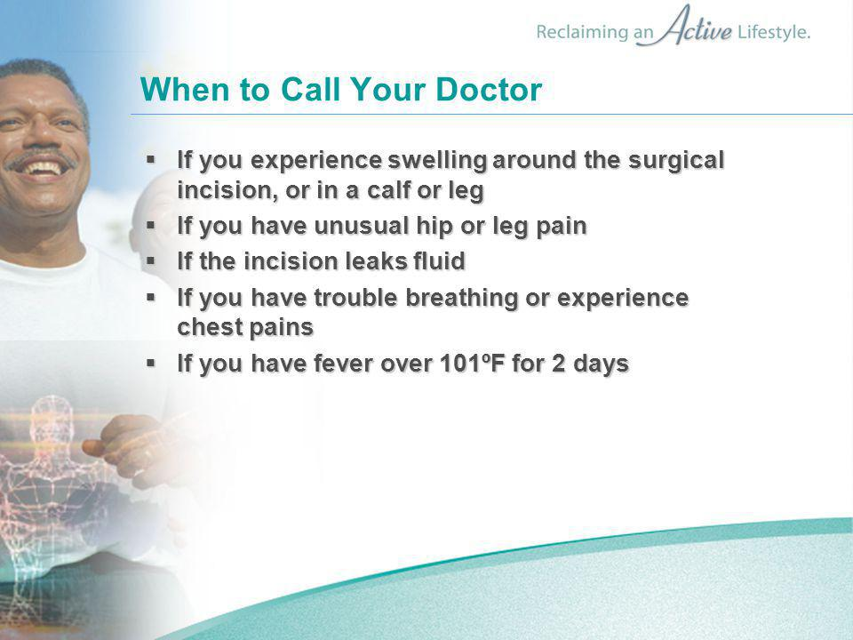 When to Call Your Doctor
