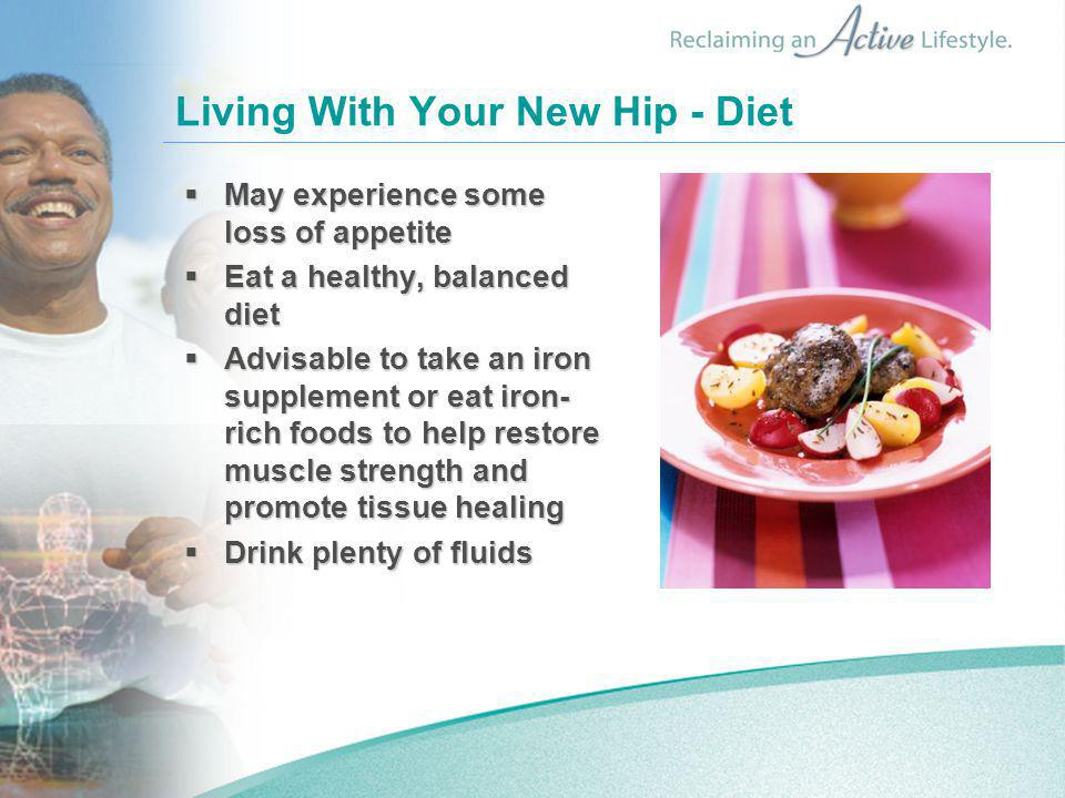 Living With Your New Hip - Diet