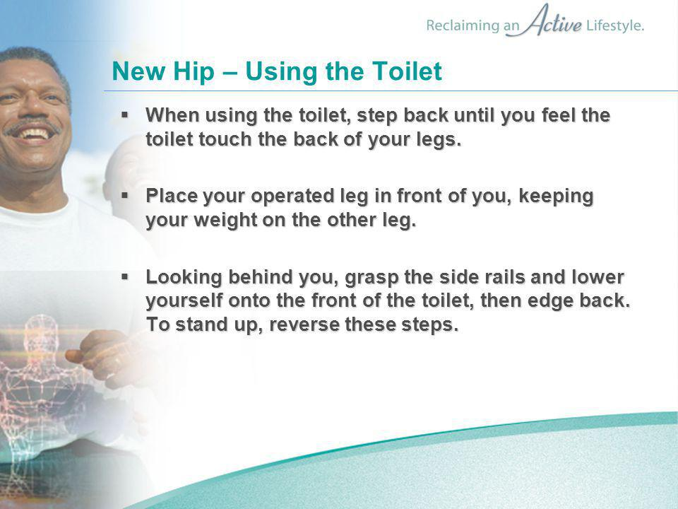 New Hip – Using the Toilet
