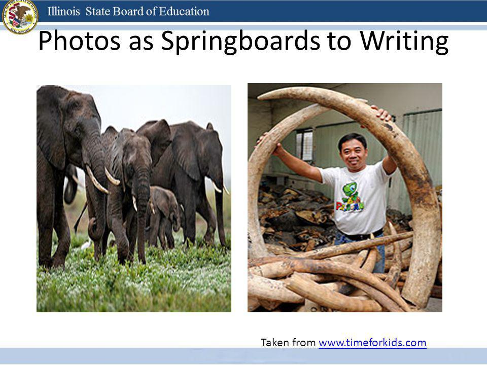 Photos as Springboards to Writing