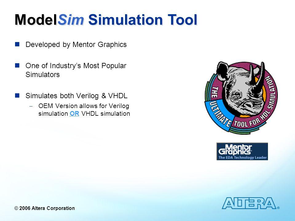 ModelSim Simulation Tool